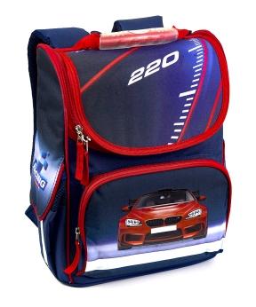 Купить Рюкзак-короб RANEC 4961 Красный BMW 35*25*13см