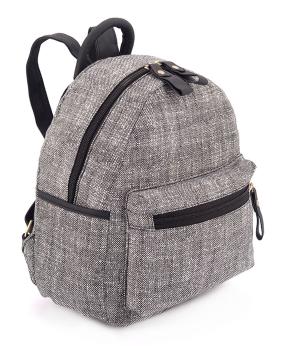 Купить Рюкзак женский тканевый 5125 тёмно-серый 29*24*13см