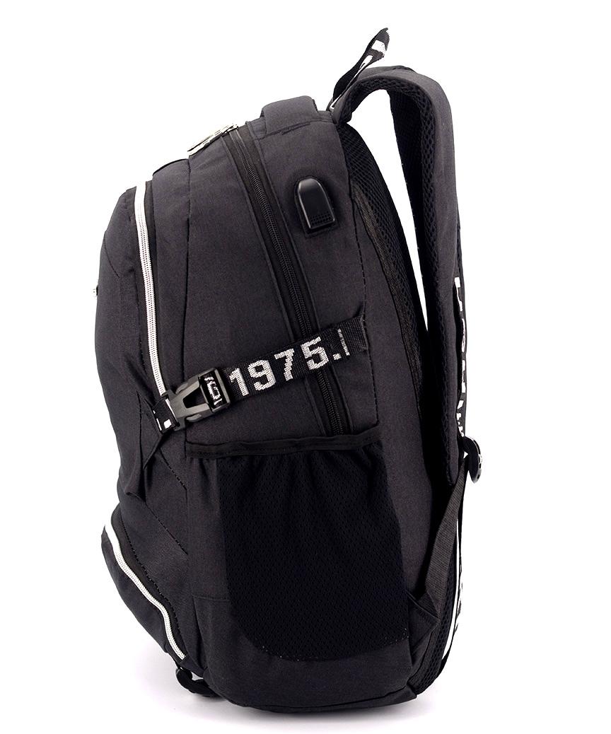 Рюкзак подростковый westbag-in 5158 черный 46*30*18см