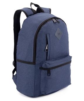 Купить Рюкзак молодёжный 5160 синий 44*28*13см