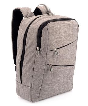 Купить Рюкзак с металической ручкой 5209 серый 38*29*12см