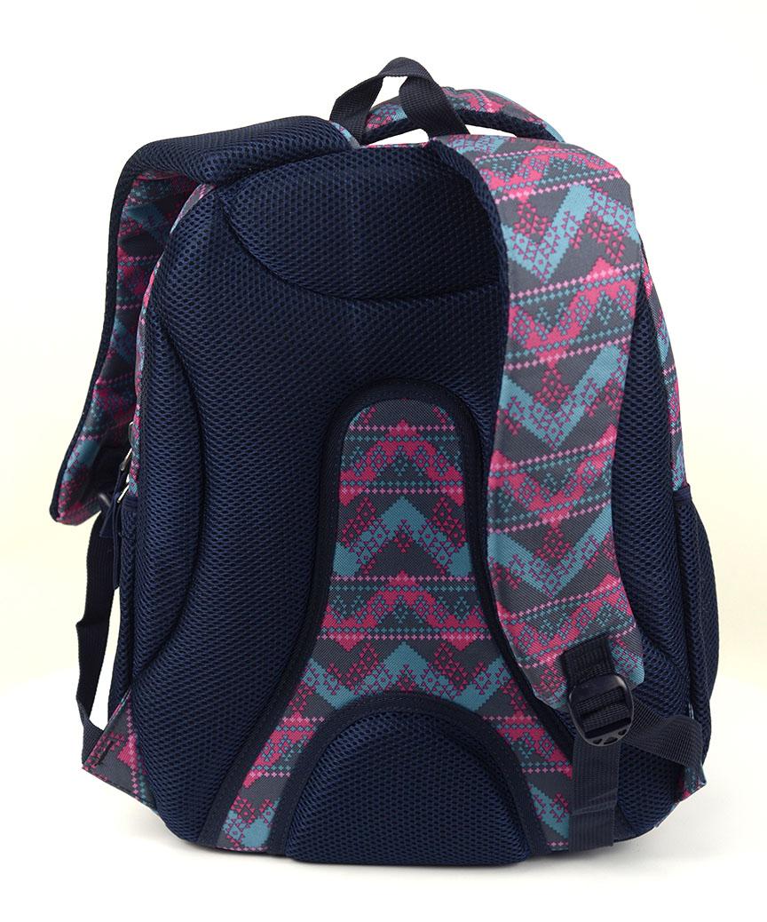 Рюкзак ортопедический 5213 зиг-заг 40*28*20см