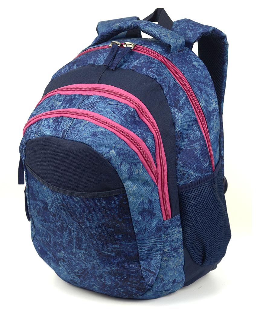 Рюкзак ортопедический 5220 синий винтаж 40*28*20см