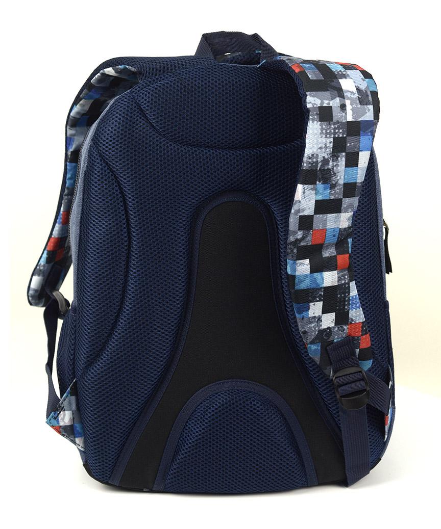 Рюкзак ортопедический молодежный 5227 мозайка 40*28*20см