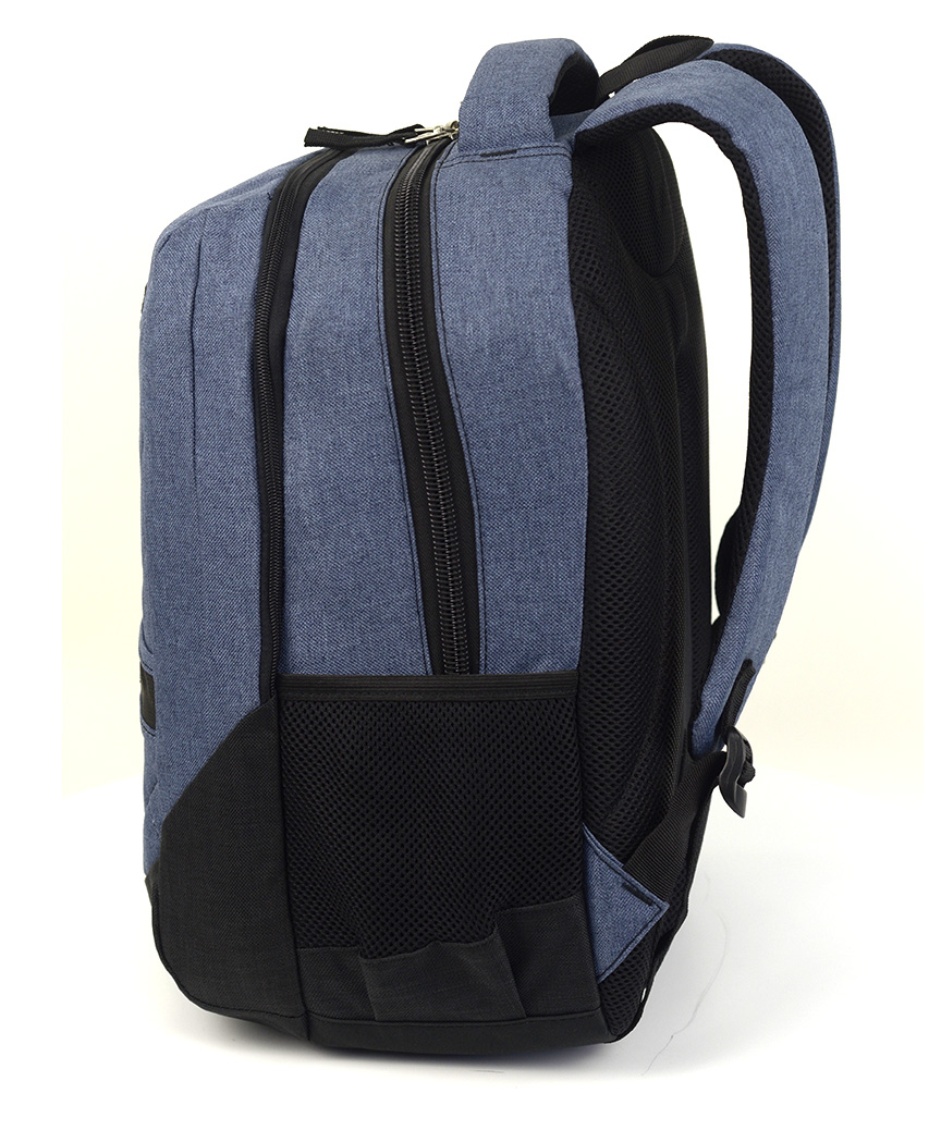 Рюкзак ортопедический 5229 светло-синий урбан 40*29*22см