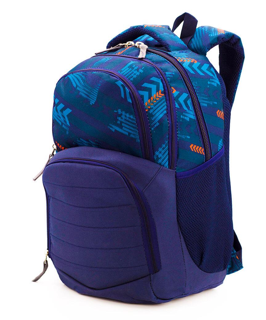 Рюкзак ортопедический 5243 сине-голубой Коллард 40*28*18см
