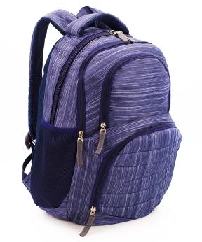 Купить Рюкзак ортопедический 5244 фиолетовый Иллюзия 40*28*18см