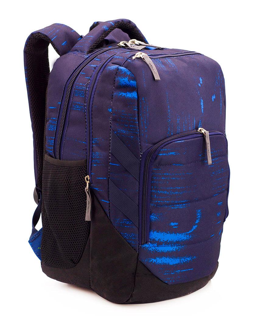 Рюкзак ортопедический 5249 синий Old Skool 40*28*21см