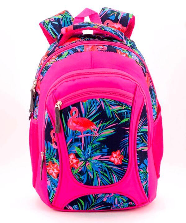 Рюкзак ортопедический 5252 фламинго 40*28*20см