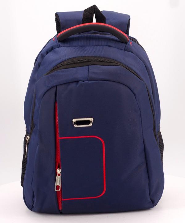 Рюкзак синий 5276 красная ручка 39*27*14см