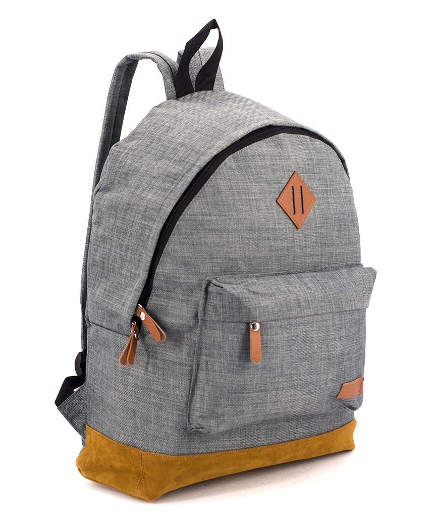 Рюкзак городской 5302 серый 40*27*11см