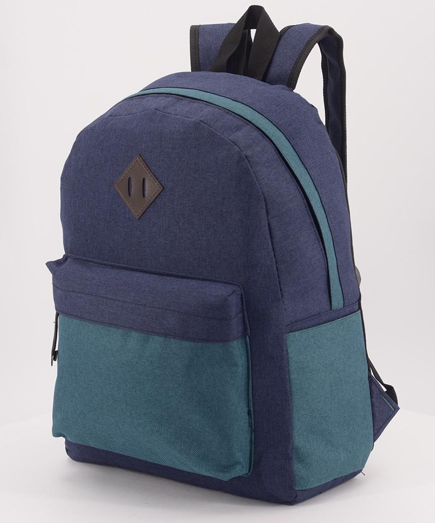 Рюкзак городской 5308 тёмно-синий 40*27*11см