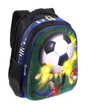 Купить Рюкзак детский с панцирем футбол 5318