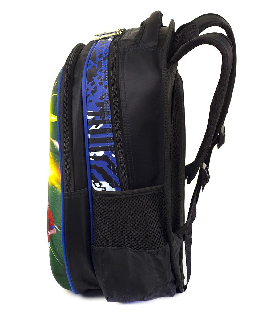 Рюкзак детский с панцирем 5318 футбол 39*29*12см
