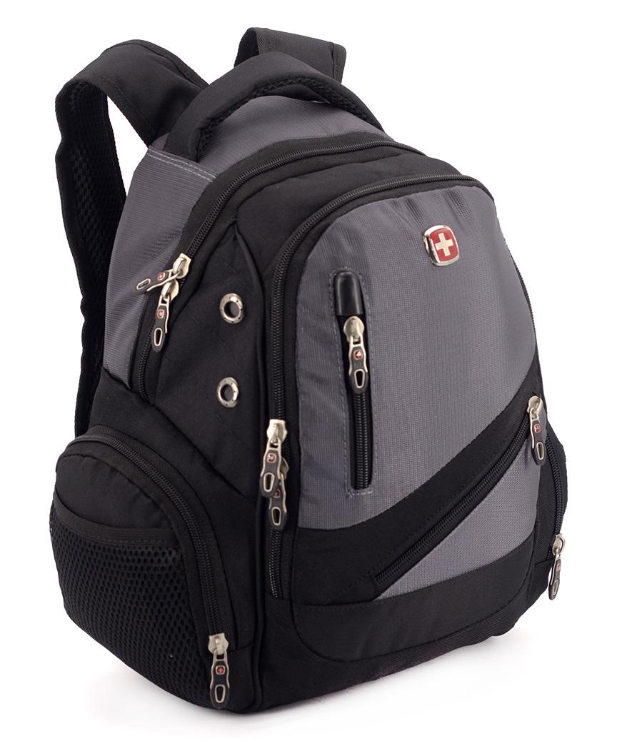 Рюкзак SWISSGEAR-мини 8815-2 серый 41*27*18см
