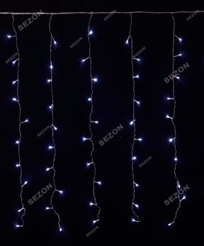 Купить Штора 120 LED   1.8м*1.2м, білий