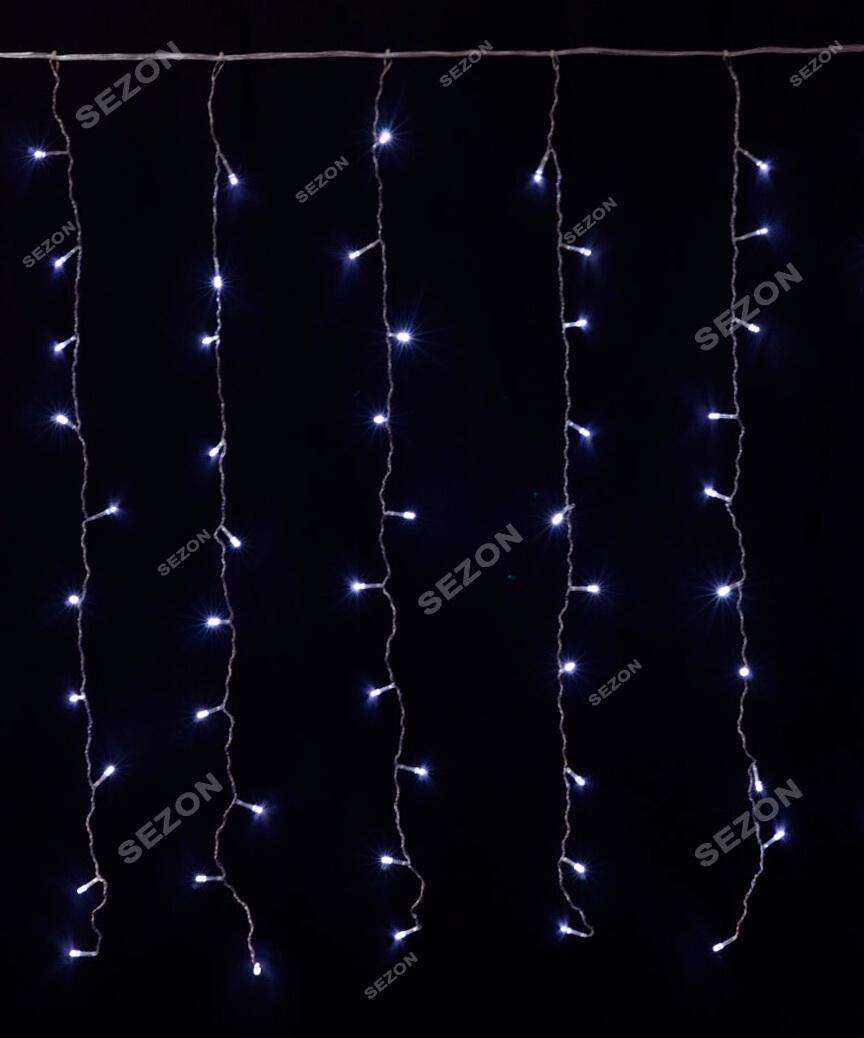 Штора 120 LED   1.5м*1.2м, білий