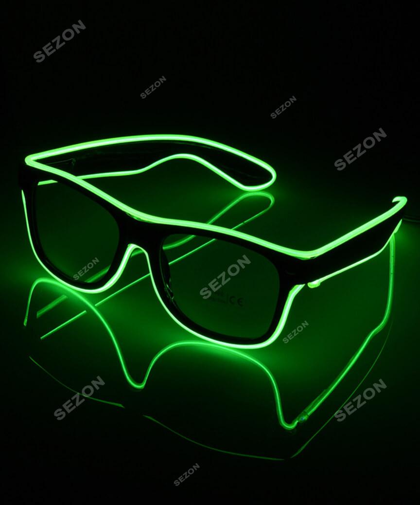 Неонові окуляри-штори HM-66  1/10/200