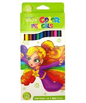 Купить Карандаши 12 цветов картон/упак TQ77023-12