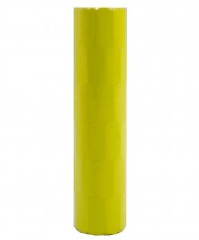Купить Ценник фигурный  26*12мм,  4м  желтый  (6шт/уп) Т-8
