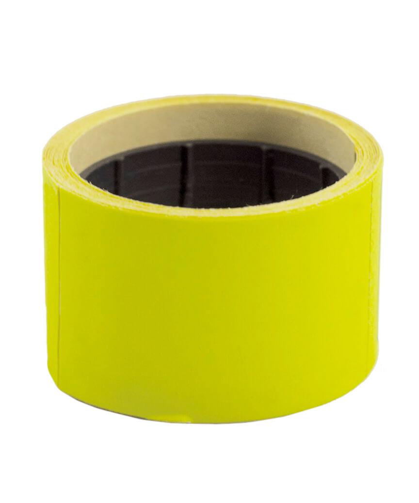Ценник чистый  38*28мм,  4м  желтый (5шт/уп)  Т-14